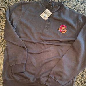 Cornell University men's Large zip sweatshirt